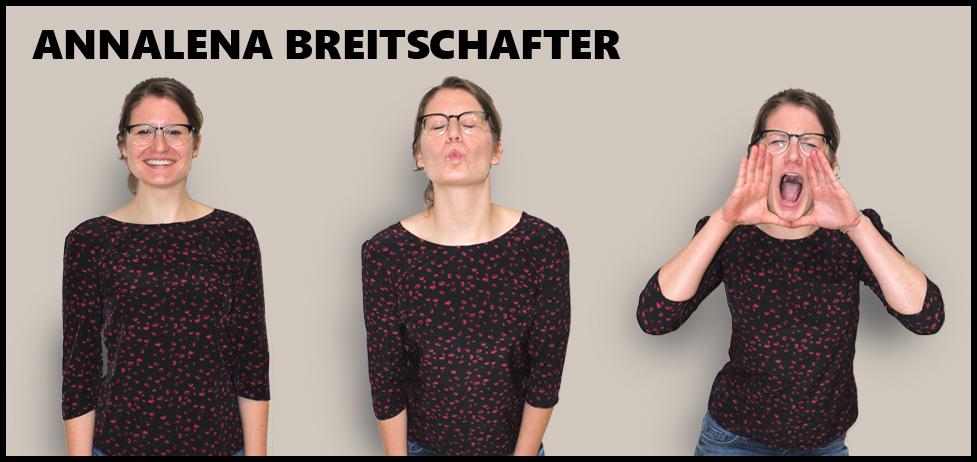 OVIGO Theater, Darstellerin Annalena Breitschafter