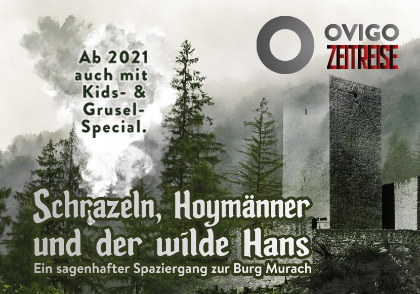 Sagenhafter Spaziergang zur Burg Murach, OVIGO Theater