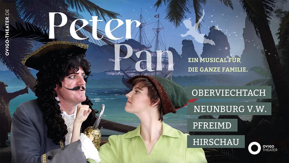 Musical Peter Pan, OVIGO Theater Oberviechtach & Neunburg