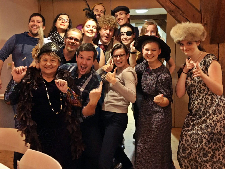 Ensemble Dinner mit Killer, OVIGO Theater