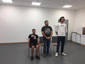 Theater-Training 2019, OVIGO Theater, Gleiritsch