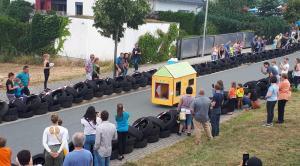 OVIGO Theater beim Weidener Seifenkistenrennen 2018