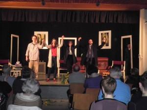 """OVIGO Theater, Gastspiel in Nürnberg-Langwasser, """"Der Gott des Gemetzels"""""""