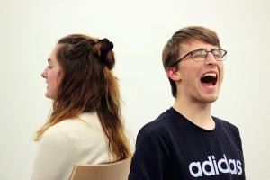 Theater-Training, mit Cora Spalek