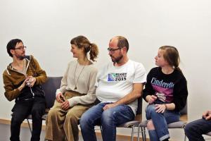 Markus Pleyer (2.v.l.) / OVIGO Theater-Training