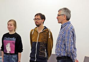 OVIGO Theater-Training mit Sebastian Deffner (Mitte)