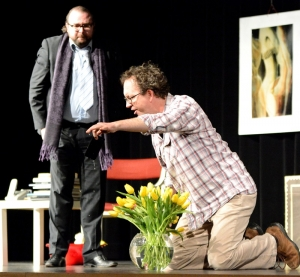 """""""Der Gott des Gemetzels"""", OVIGO Theater, Florian Waldherr und Uli Scherr"""