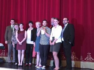 """Bayerischer Amateurtheaterpreis 2015 (Auszeichnung für """"Der Gott des Gemetzels"""")"""