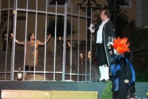 "OVIGO-Vorgänger Ortenburg-Ensemble, ""Faust"", mit Julia Gruber"