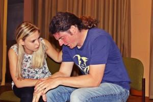 Impro-Theater bei OVIGO mit Sarah Ebnet und Michael Zanner