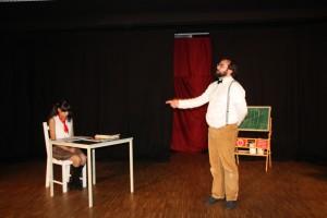 """OVIGO Theater, """"Die Unterrichtsstunde"""" im W1"""