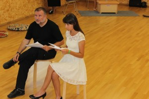 Hermann J. Vief mit Lisamarie Berger (OVIGO-Workshop)