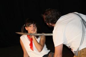 """OVIGO Theater, """"Die Unterrichtsstunde"""" (2015)"""