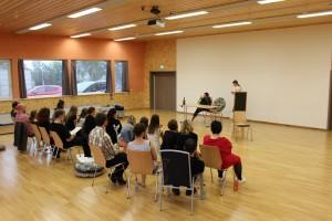 Workshop in Oberviechtach, OVIGO Theater, 2016