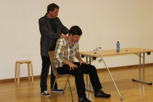 Schauspiel-Workshop in Oberviechtach, OVIGO Theater, 2016