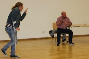 Schauspiel-Workshop in Oberviechtach, OVIGO Theater, Michael Zanner und Michael Sandner