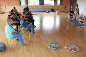 Workshop im AWO-Mehrgenerationentreff Oberviechtach, OVIGO Theater 2016