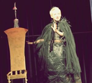 """OVIGO Theater, """"Schneewittchen"""", mit Barbara Kießling"""