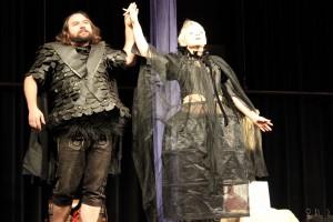 """OVIGO Theater, """"Schneewittchen"""", Florian Waldherr und Barbara Kießling"""