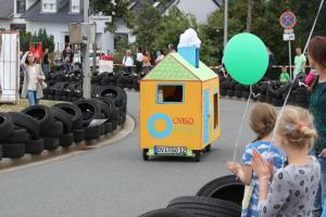 Flitzer Kunterbunt beim Weidener Seifenkistenrennen 2018