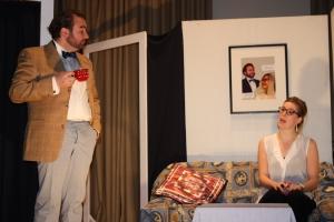 "OVIGO Theater, ""Love-Jogging"", Florian Waldherr und Eva Rost"
