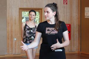 OVIGO Theater-Training, mit Theresia Igl (und Sina Schröder)