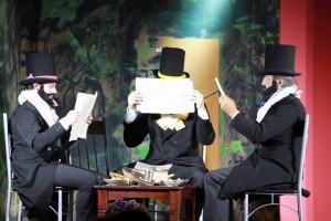 """OVIGO Theater, """"Die Verwandlung"""", 3 Zimmerherren"""