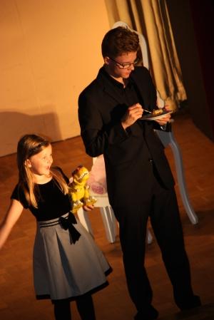 "OVIGO Theater, ""Diamond Lucy"", Eva Schönberger und Johannes Rahm"