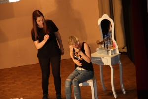 """OVIGO Theater, """"Diamond Lucy"""", Johanna Gradl und Julia Gitter"""