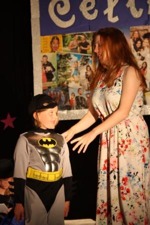 """Diamond Lucy"" (OVIGO Theater 2015), mit Batwoman Eva Schönberger"