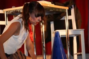 """OVIGO Theater, """"Die Unterrichtsstunde"""", Lisamarie Berger"""