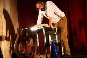 """OVIGO Theater - """"Die Unterrichtsstunde"""" (2015) in Oberviechtach & Regensburg"""