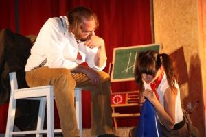 """OVIGO Theater, """"Die Unterrichtsstunde"""", Waldherr/Berger"""