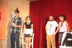 """OVIGO Theater - """"Die Unterrichtsstunde"""" (2015) in Oberviechtach - Regisseur Florian Wein"""