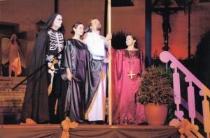 """OVIGO Theater, """"Jedermann"""" (Vorgängerensemble), mit Julia Gruber"""