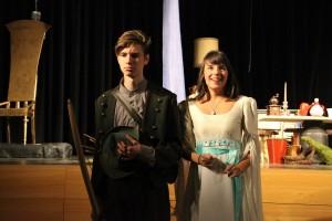 """OVIGO Theater / """"Schneewittchen"""" / Andreas Dietl & Lisamarie Berger"""