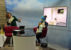 """Lampedusa"" im TVA-Studio"