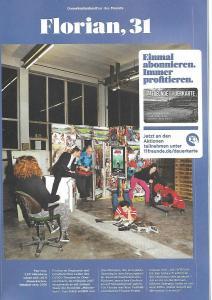 """OVIGOs """"Männerhort"""" im Fußballmagazin """"11 Freunde"""""""