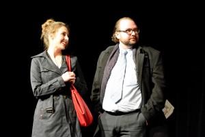 """OVIGO Theater, """"Der Gott des Gemetzels"""", V. Civiello & F. Waldherr"""