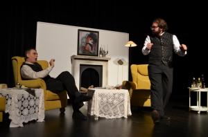 "OVIGO Theater, ""Dr. med. Hiob Prätorius"" (2014), Michael Eckl und Florian Waldherr"