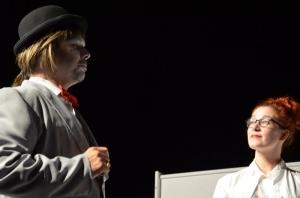 "OVIGO Theater, ""Dr. med. Hiob Prätorius"" (2014), Heino Hübbers und Eva Rost"