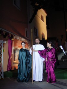 """OVIGO Theater, """"Jedermann"""" (Vorgängerensemble) im Jahr 2008"""