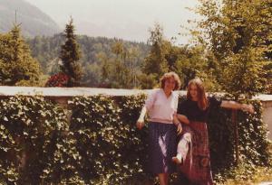 Start des Ortenburg-Ensembles, Schulspieltage Berchtesgaden 1980