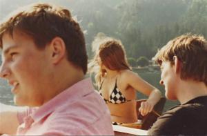 Start des Ortenburg-Ensembles, Schulspieltage Berchtesgaden, 1980
