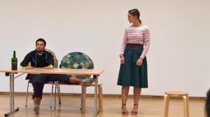 OVIGO-Workshop in Oberviechtach, Florian Wein mit Julia Ruhland