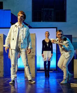 A Clockwork Orange in Waldsassen, mit Daniel Adler (OVIGO Theater)