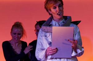 """A Clockwork Orange"" in Waldsassen / Glashütte Lamberts / OVIGO Theater"