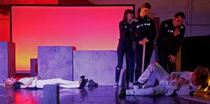 A Clockwork Orange in Waldsassen, mit Daniel Adler (OVIGO Theater 2019)