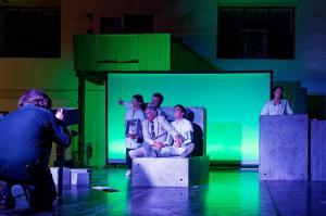 """Waldsassen, Glashütte Lamberts, """"A Clockwork Orange"""" (OVIGO Theater)"""
