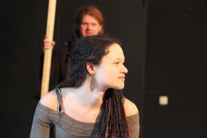 "OVIGO Theater Probe: ""A Clockwork Orange"" / Sina Schröder"